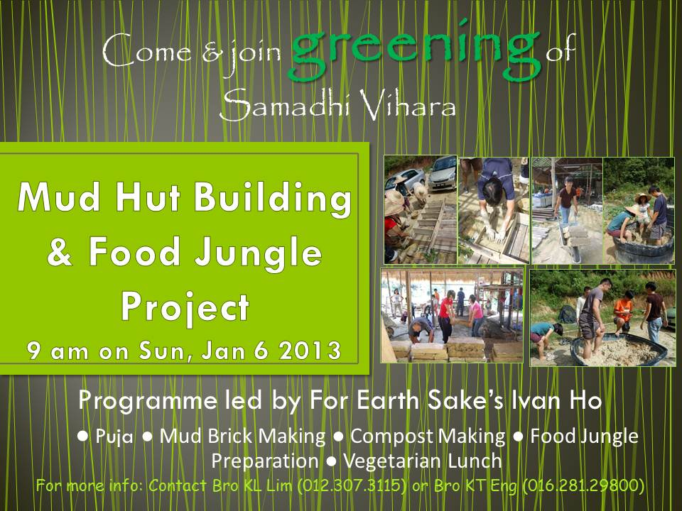 Mud Hut Building & Food Jungle Project