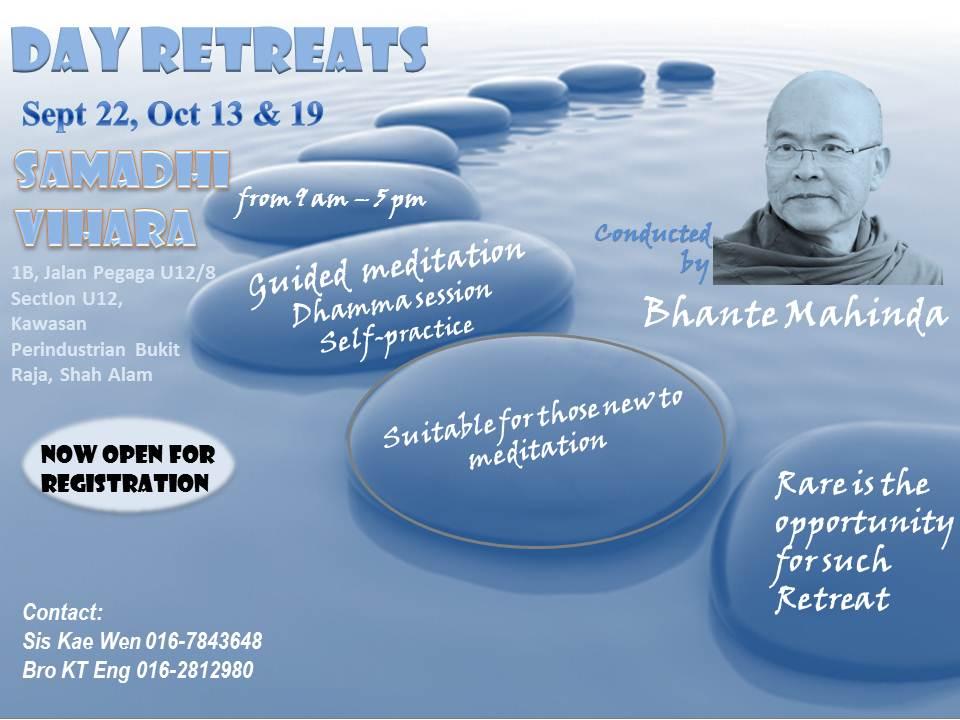Day Retreat22.09.13 till 19.10.13