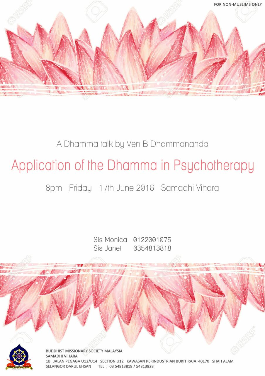 Friday Dhamma Talk