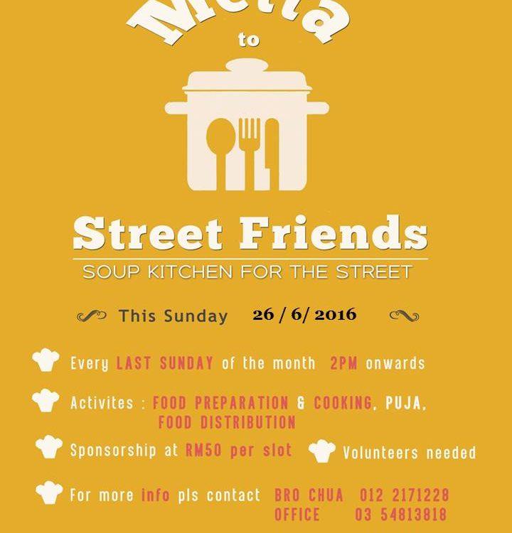 Metta to Street Friends