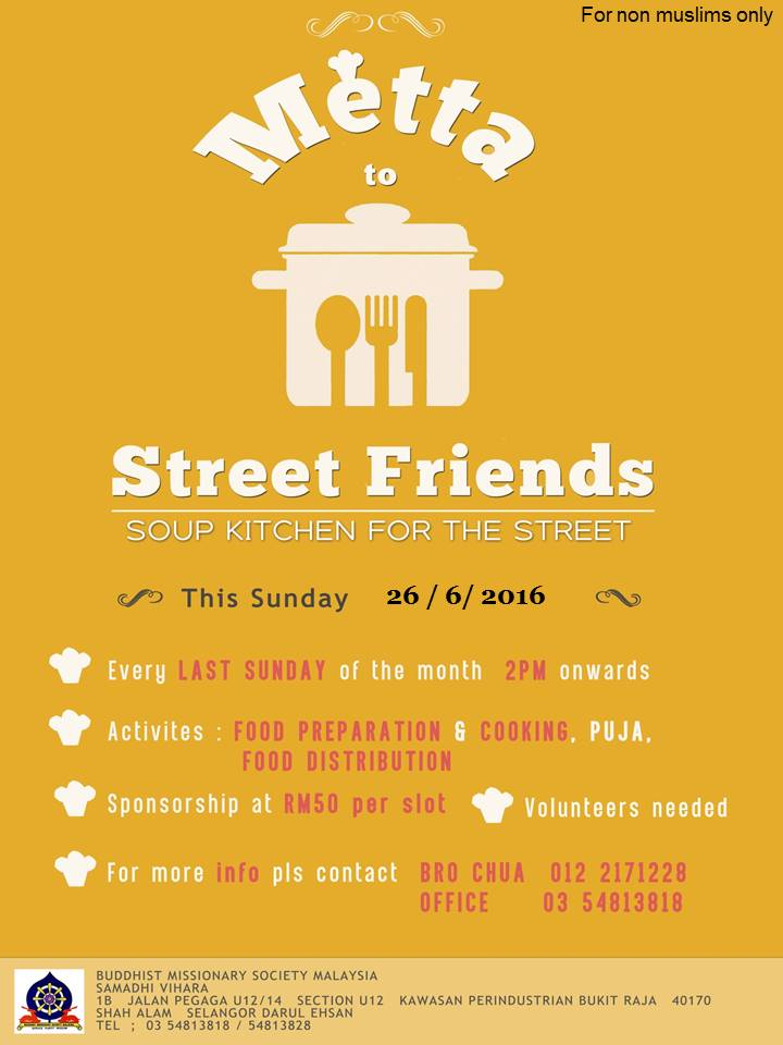 Metta to Street Friends