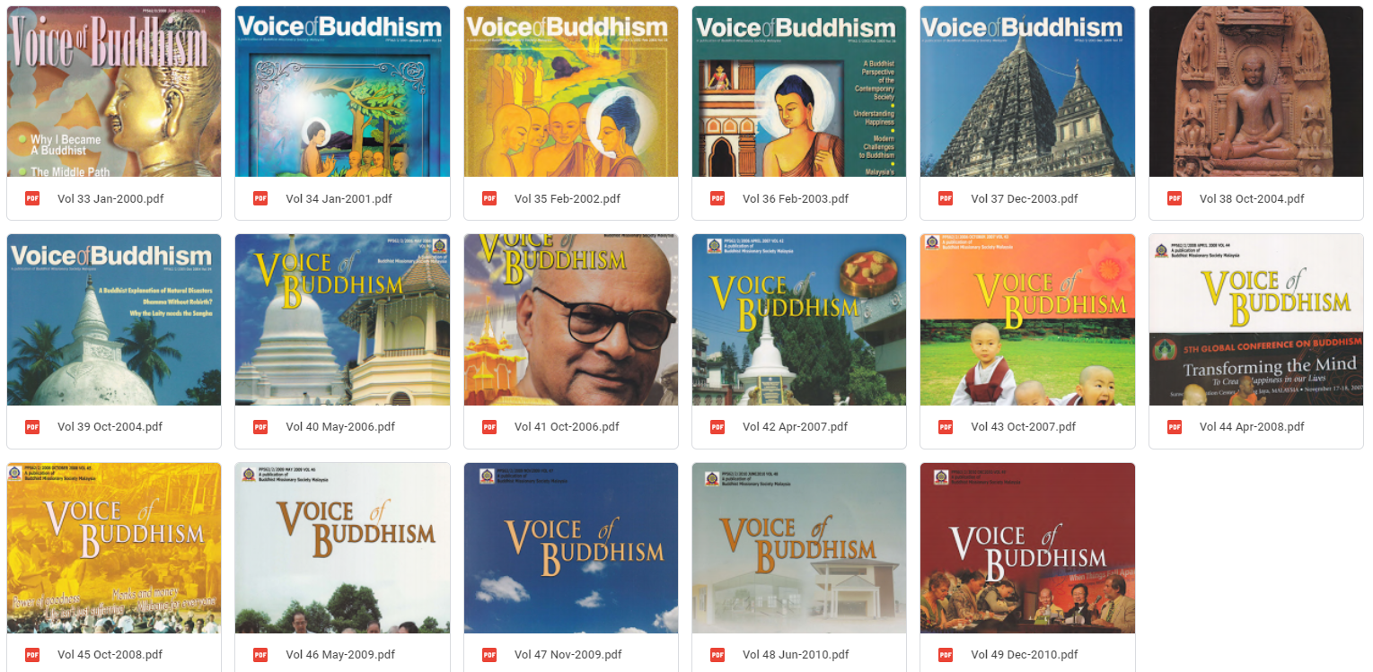 2000-2010 Voice of Buddhism 01