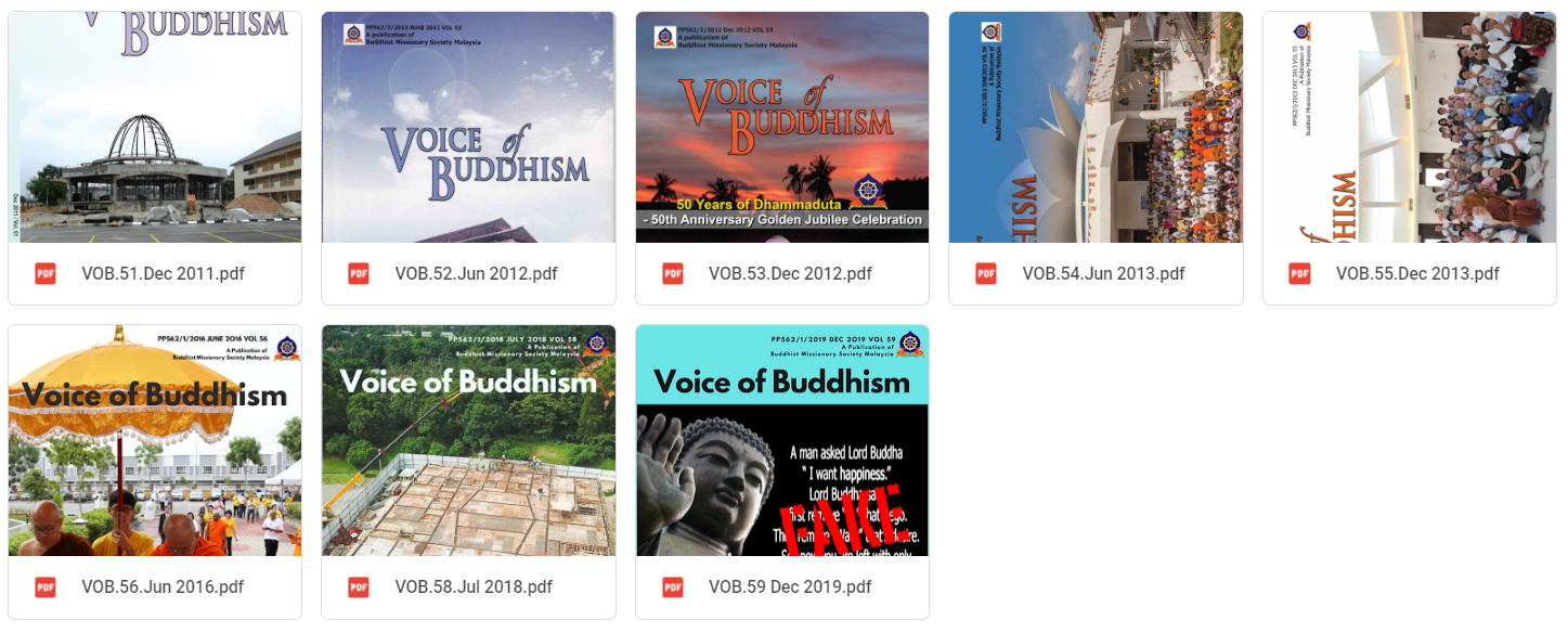 2011-2020 Voice of Buddhism 01